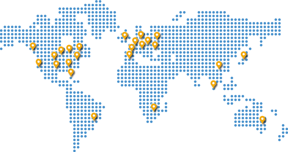 ProxyFish has servers all over the world